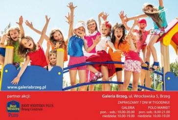 Wesoły powrót do szkoły z Galerią Brzeg i Hotelem BEST WESTERN PLUS