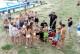 Ćwiczenia na basenie kąpielowym w Grodkowie