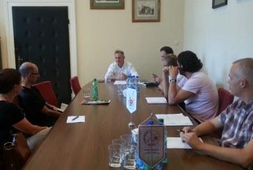 Rozmawiali o rowerowych trasach z Brzegu do Oławy