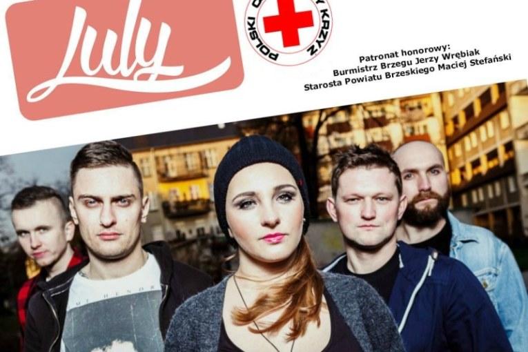 PCK zaprasza na koncert charytatywny zespołu LULY