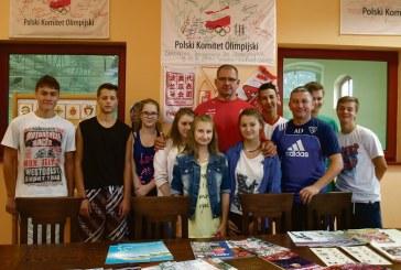 Spotkanie z mistrzem olimpijskim w Lewinie Brzeskim