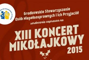 XIII Koncert Mikołajkowy 2015