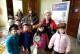 Dzieci z Przedszkola nr 11 na wystawie Eksponatów Kolejowych w Brzegu