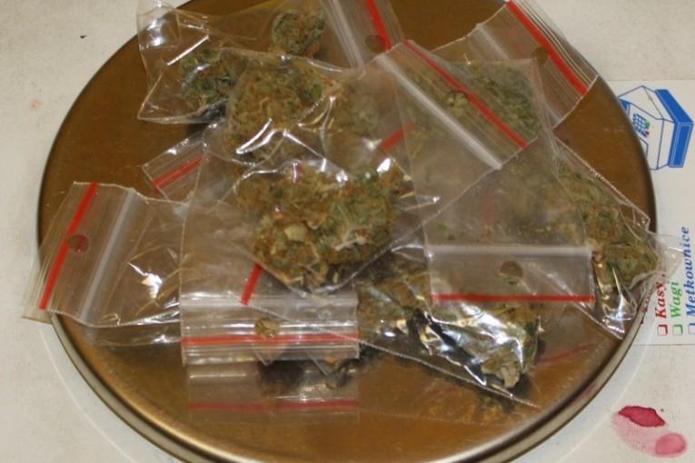 Brzeg: 32-latek zatrzymany z marihuaną i amfetaminą