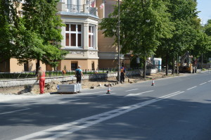 Powiat remontuje Piastowska