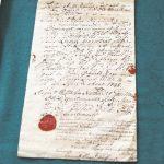 Dokument spisany przez brzeskiego inspektora budowlanego Augusta Wilhelma Neidhardta von Gneisenau w 1798 r