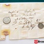 Rękopis twórcy dokumentów z tuby z 1798r. dr Ernesta Gottlieba Glawninga