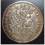 Gulden elektora pruskiego 1690 r. (awers)