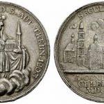 Medal z okazji 600-lecia założenia klasztoru w Trzebnicy (awers i rewers)