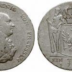 Talar Fryderyka Wilhelma 1792 (awers i rewers)