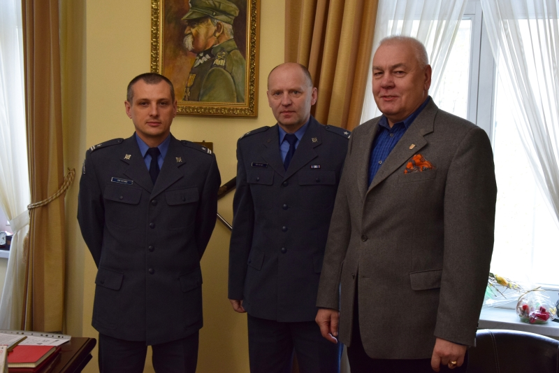 Współpraca powiatu z Zakładem Karnym w Brzegu