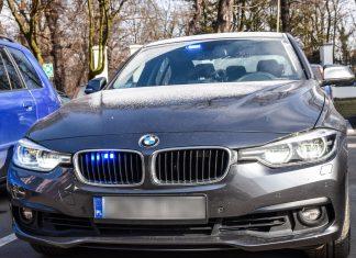 nieoznakowane BMW