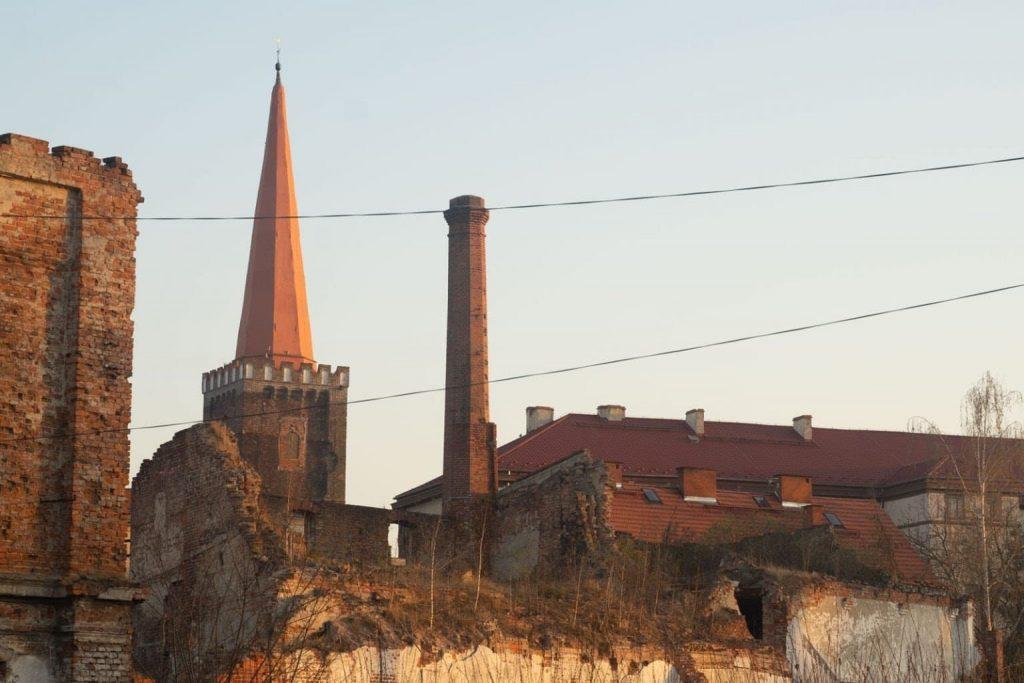 Ruiny browaru w Grodkowie