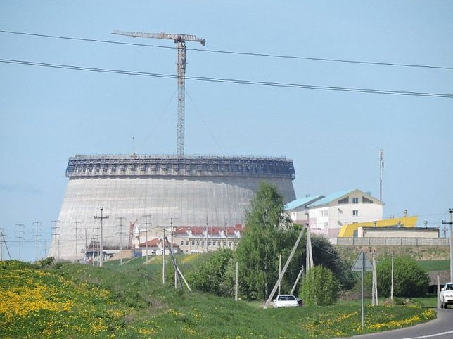 Elektrownia atomowa na Białorusi
