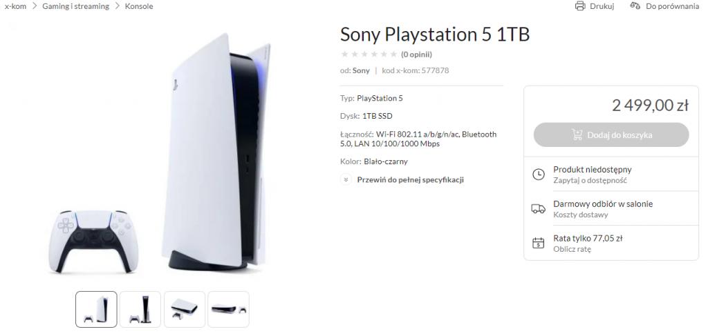 PlayStation 5 x-kom