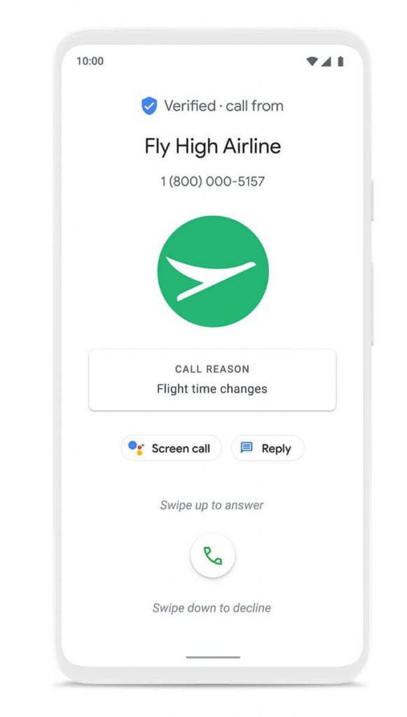 Google zweryfikowane połączenie